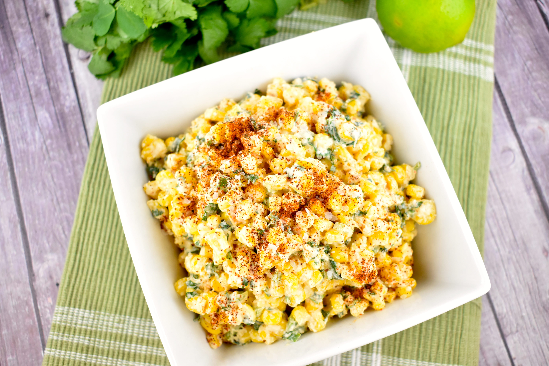 Recipe For Corn Salad  Mexican Street Corn Salad Recipe 1 Point LaaLoosh