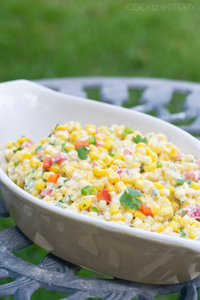 Recipe For Corn Salad  easy corn salad with mayo