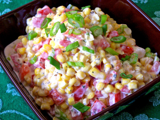 Recipe For Corn Salad  Creamy Corn Salad Recipe Food