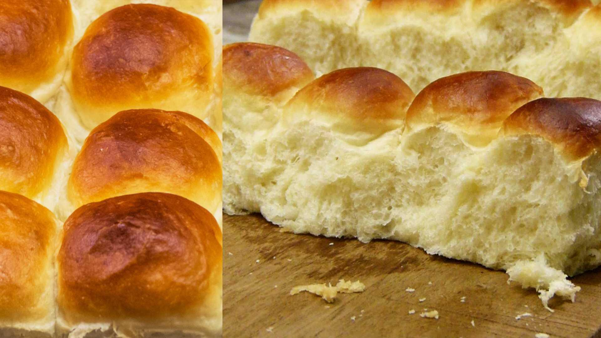 Recipe For Dinner Roll  Eggless Ladi Pav Buns Recipe – Feather Soft Dinner Rolls
