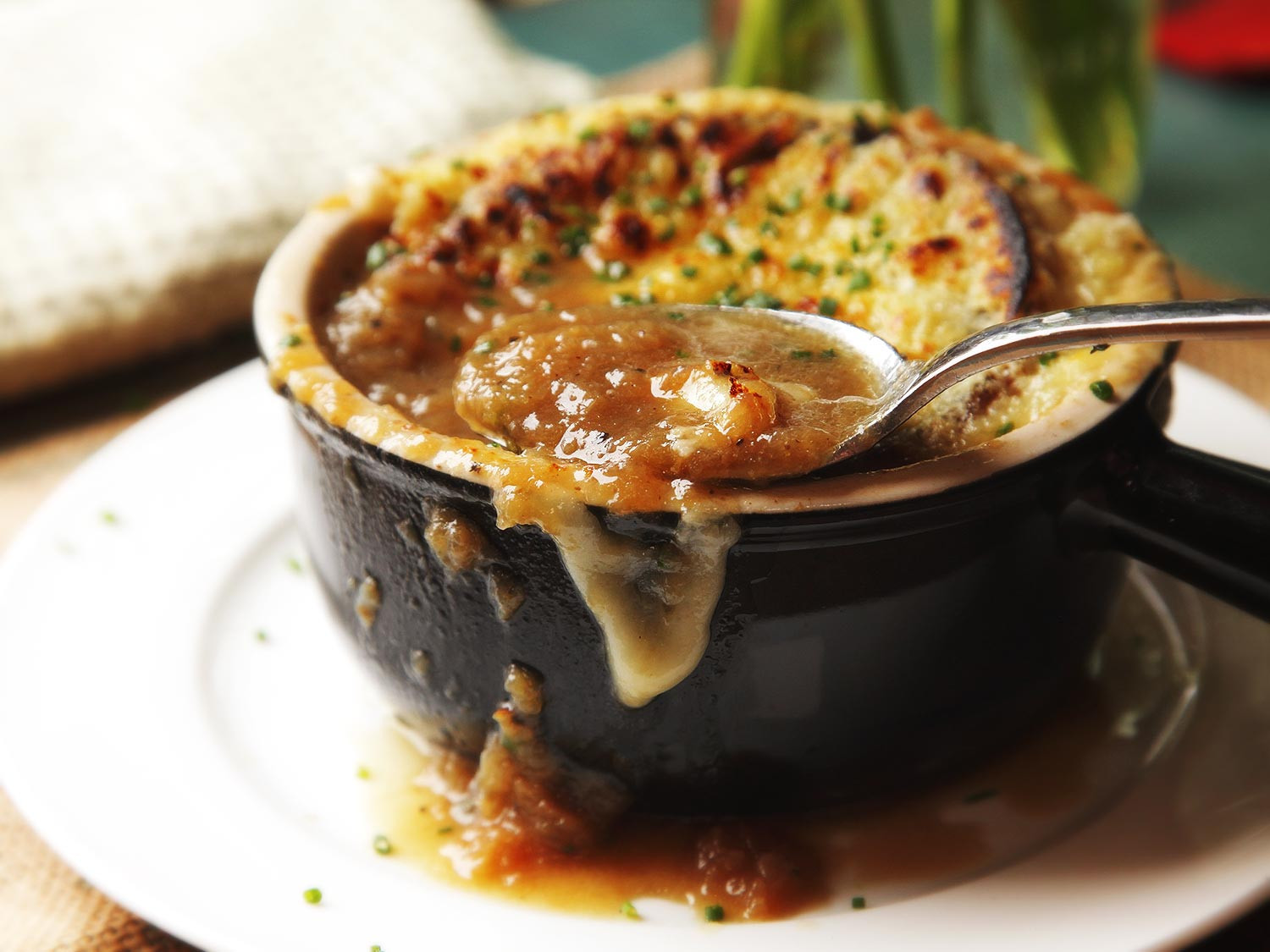 Recipe For French Onion Soup The Food Lab Use the Pressure Cooker for Quick