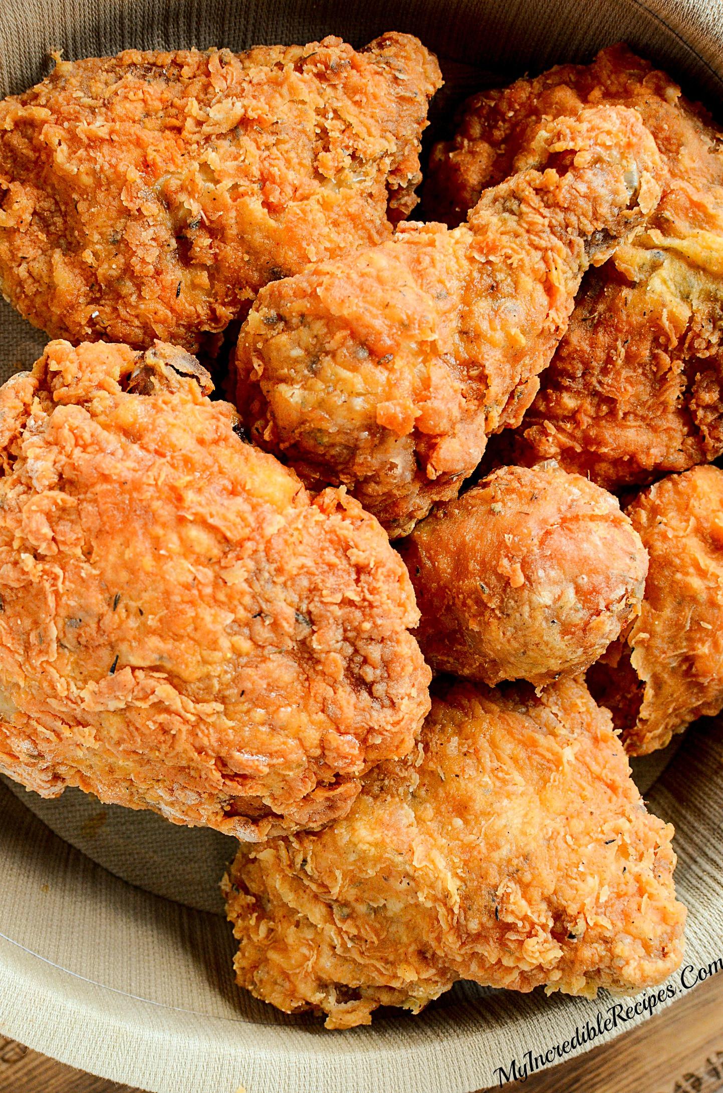 Recipe For Fried Chicken  Southern KFC SECRET Fried Chicken Recipe