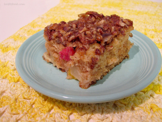 Recipe For Fruit Cocktail Cake  fruit cocktail cake