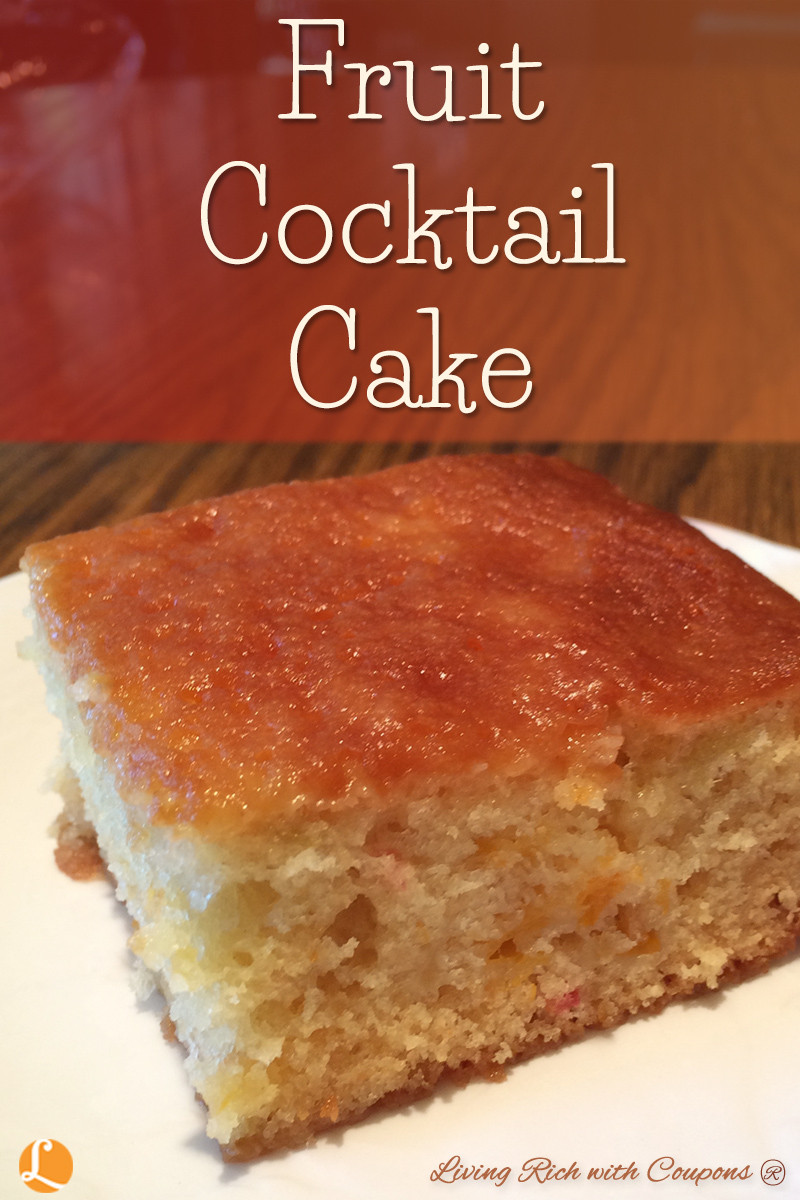 Recipe For Fruit Cocktail Cake  Fruit Cocktail Cake Recipe Living Rich With Coupons