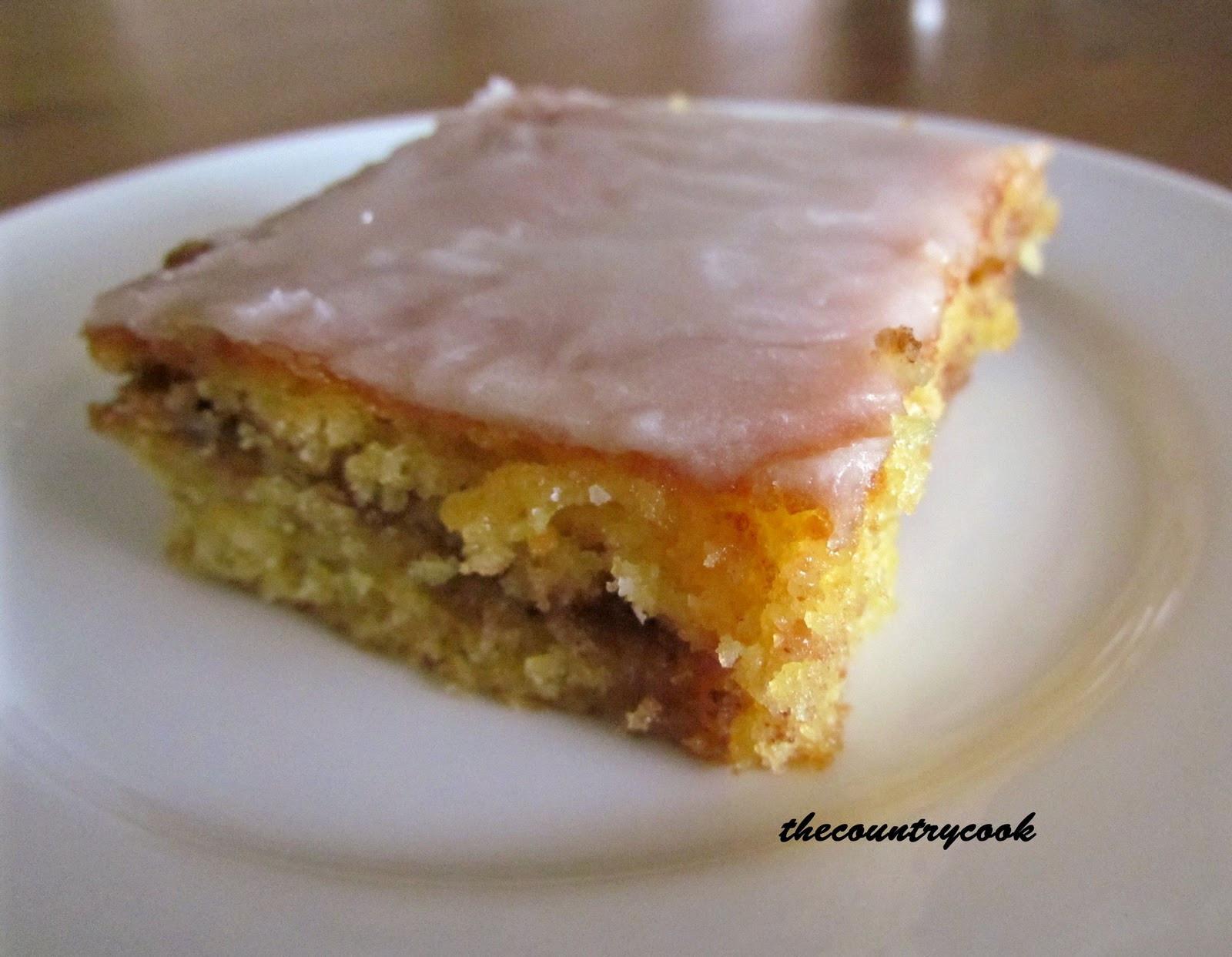 Recipe For Honeybun Cake  Sundays with the Lechlers Poke Cakes