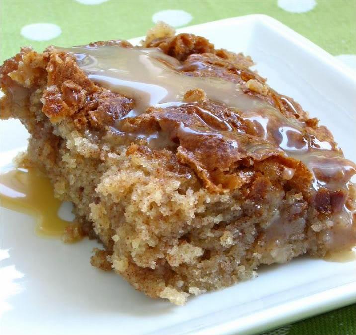 Recipe For Honeybun Cake  Amish Caramel Honey Bun Cake