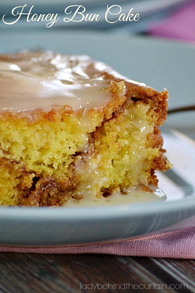 Recipe For Honeybun Cake  Honey Bun Cake