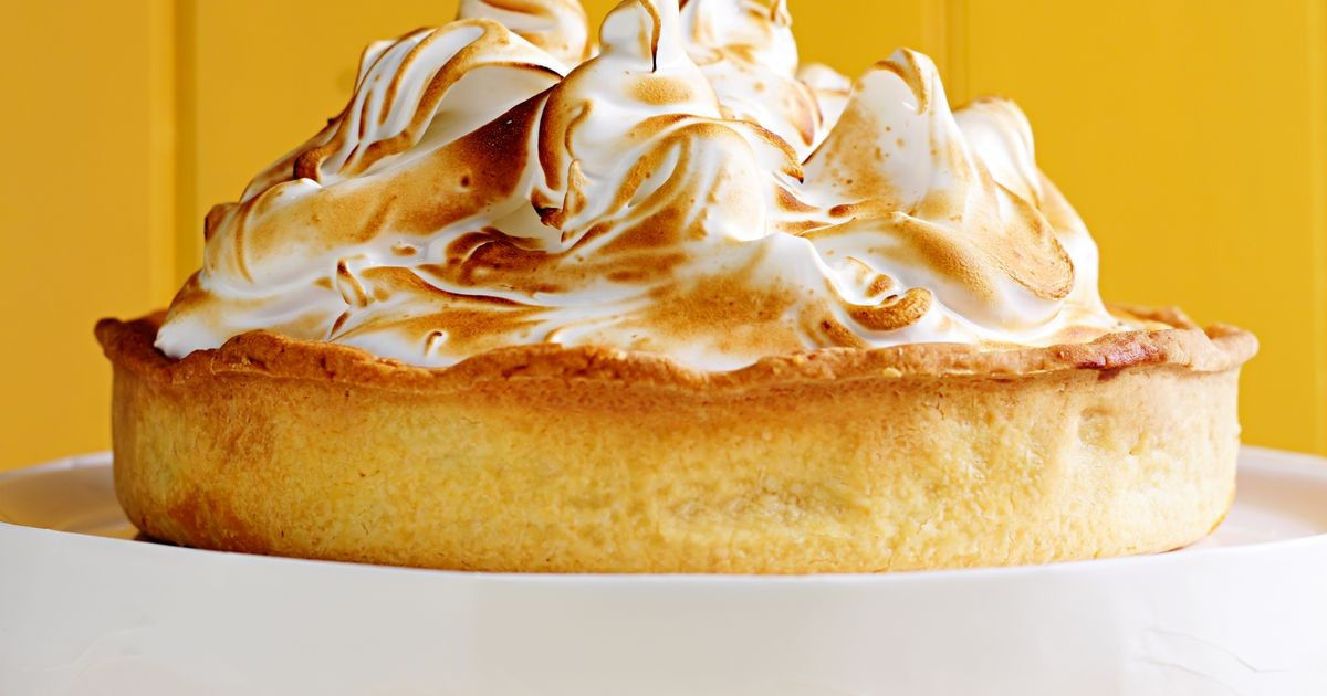 Recipe For Lemon Meringue Pie  Lemon meringue pie