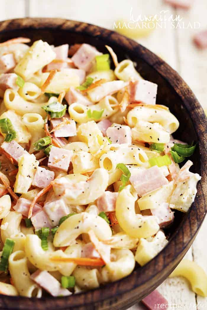 Recipe For Macaroni Salad  Hawaiian Macaroni Salad