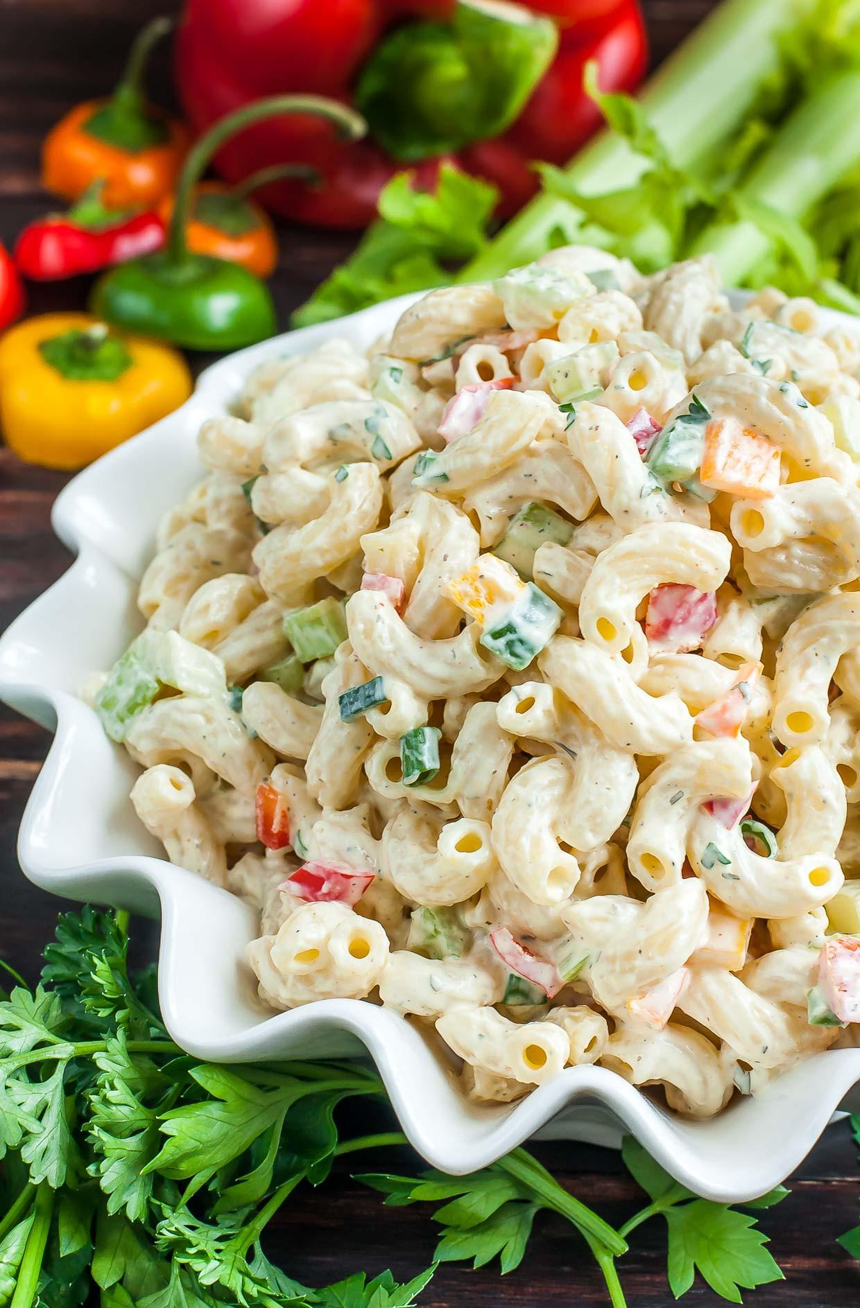 Recipe For Macaroni Salad  Homestyle Macaroni Salad