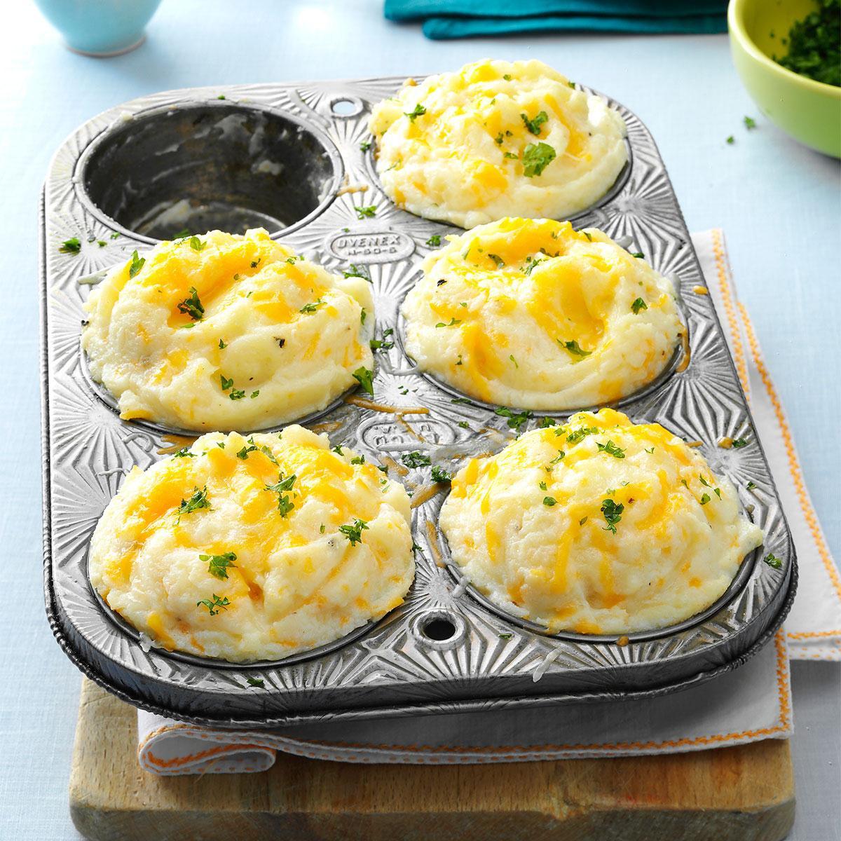 Recipe For Mashed Potatoes  Mashed Potato Cups Recipe