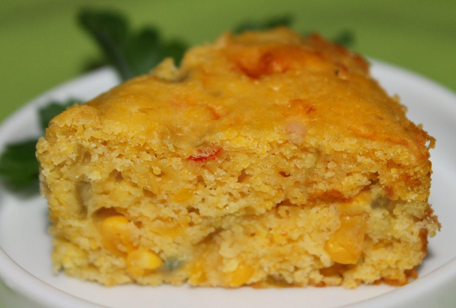 Recipe For Mexican Cornbread  mexican style cornbread