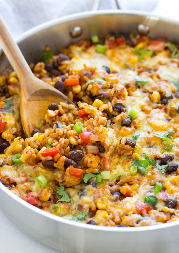 Recipe For Mexican Rice  e Skillet Mexican Rice Casserole Making Thyme for Health