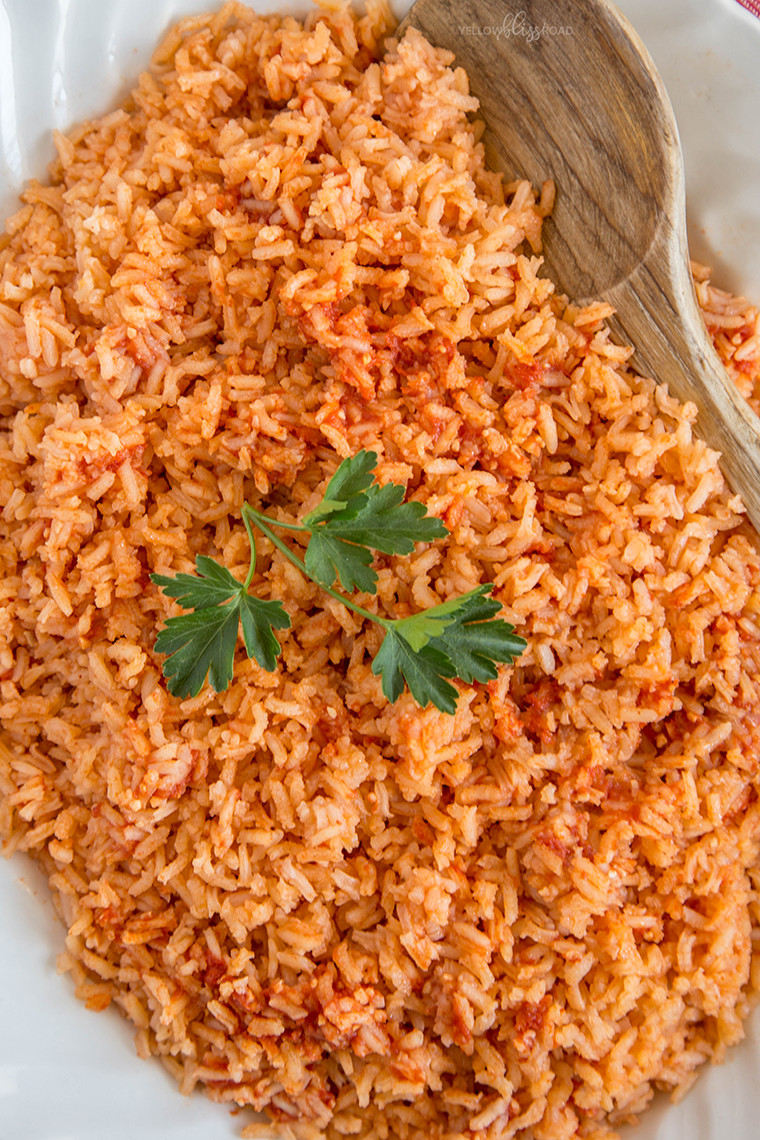 Recipe For Mexican Rice  Authentic Mexican Rice Yellow Bliss Road