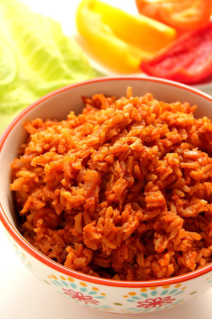 Recipe For Mexican Rice  How to Spanish Rice Recipe Crunchy Creamy Sweet