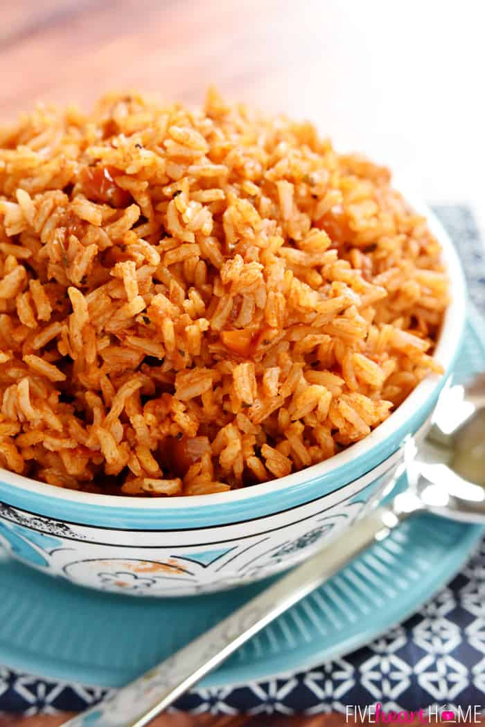 Recipe For Mexican Rice  Easy Spanish Rice
