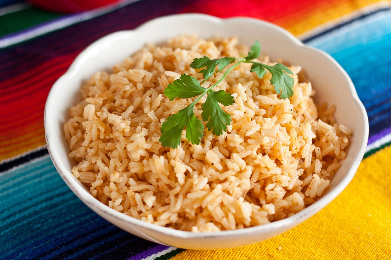 Recipe For Mexican Rice  mexican rice without tomato sauce