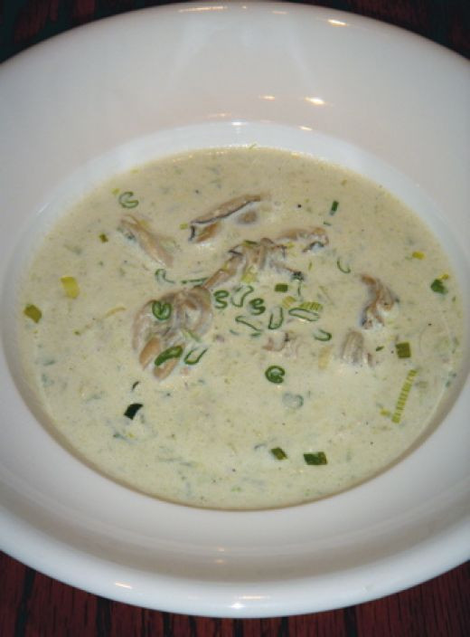 Recipe For Oyster Stew  canned oyster stew
