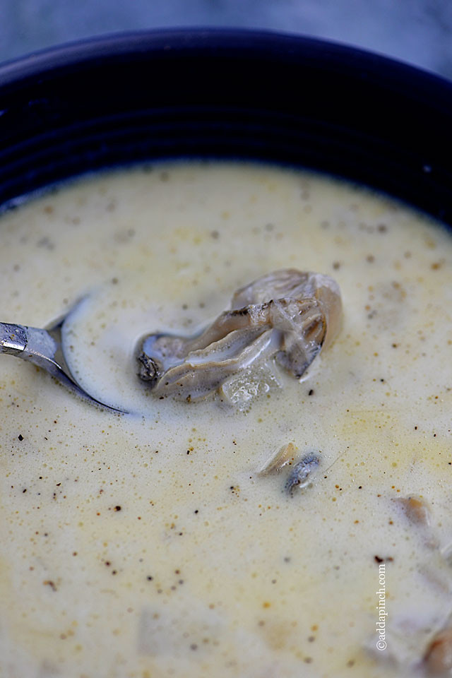 Recipe For Oyster Stew  Oyster Stew Recipe Add a Pinch