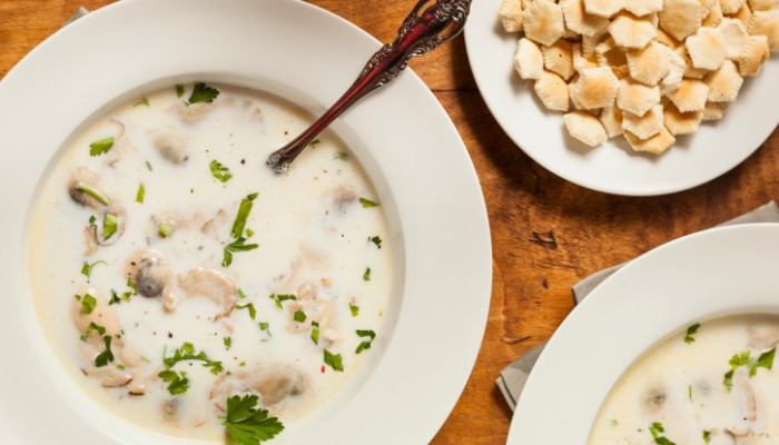 Recipe For Oyster Stew  Classic Creamy Oyster Stew