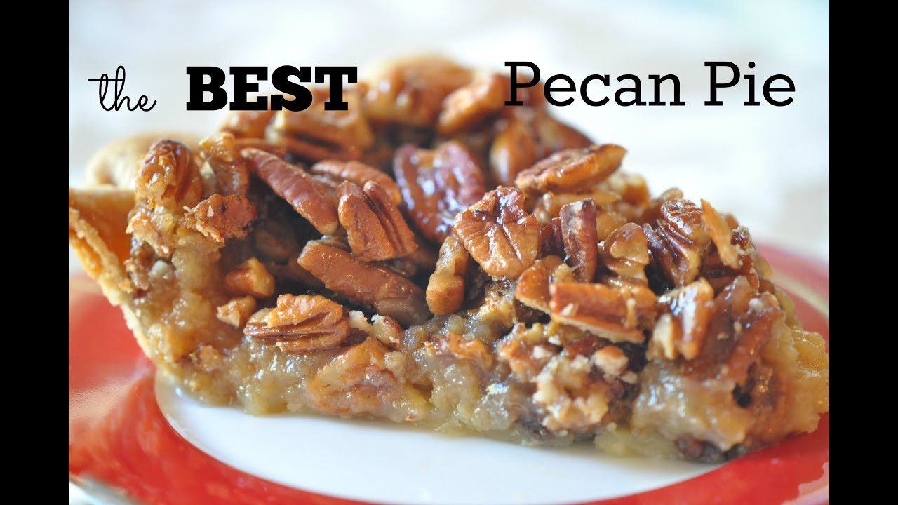 Recipe For Pecan Pie  best southern pecan pie recipe