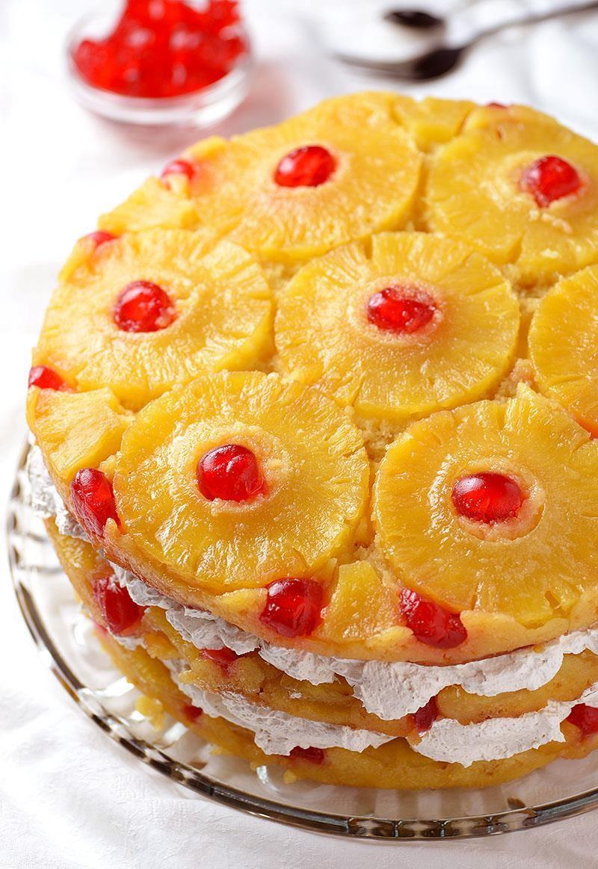 Recipe For Pineapple Upside Down Cake  Pineapple Upside Down Cake OMG Chocolate Desserts