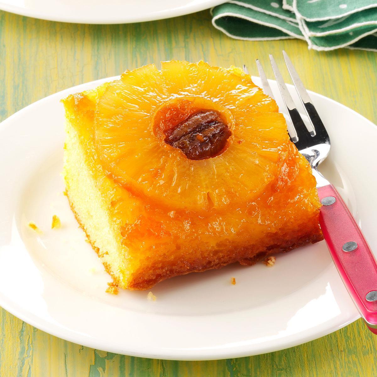 Recipe For Pineapple Upside Down Cake  Easy Pineapple Upside Down Cake Recipe