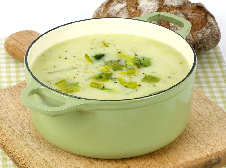 Recipe For Potato Leak Soup  Irresistible French Potato and Leek Soup Recipe