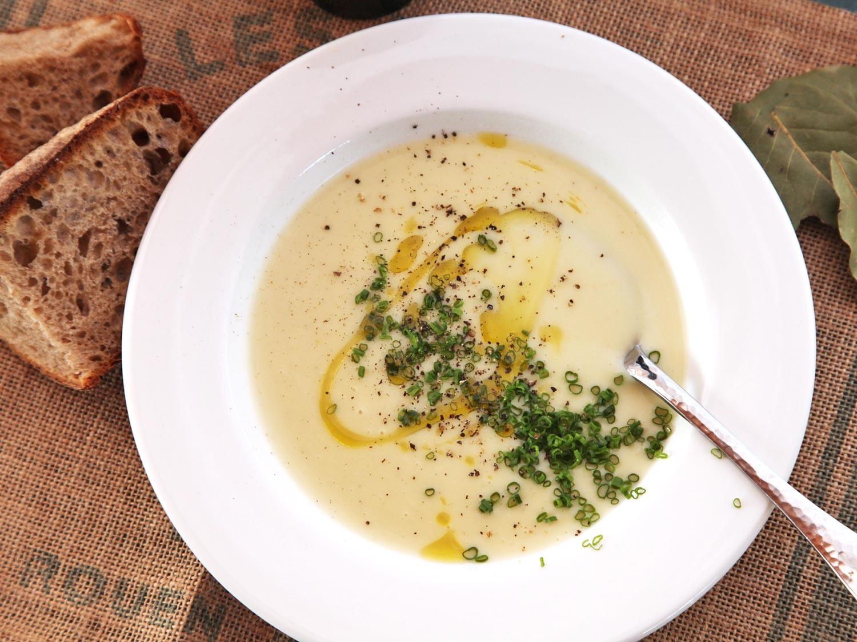 Recipe For Potato Leak Soup  The Best Potato Leek Soup Recipe