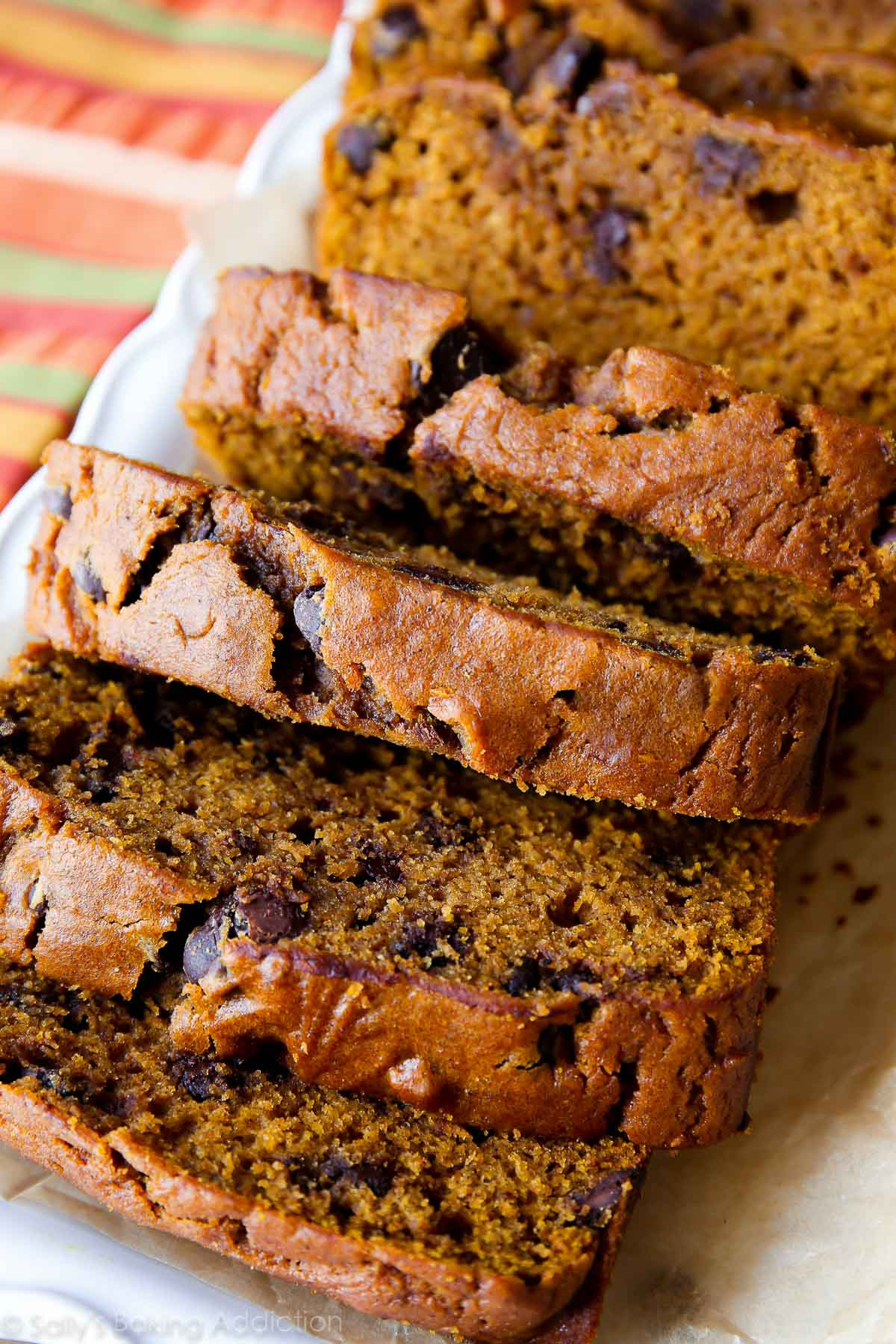 Recipe For Pumpkin Bread  Pumpkin Chocolate Chip Bread Sallys Baking Addiction