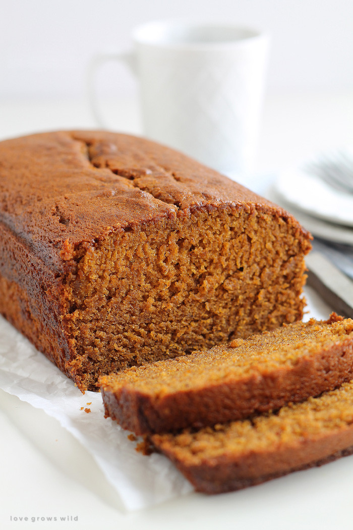 Recipe For Pumpkin Bread  Pumpkin Bread Love Grows Wild
