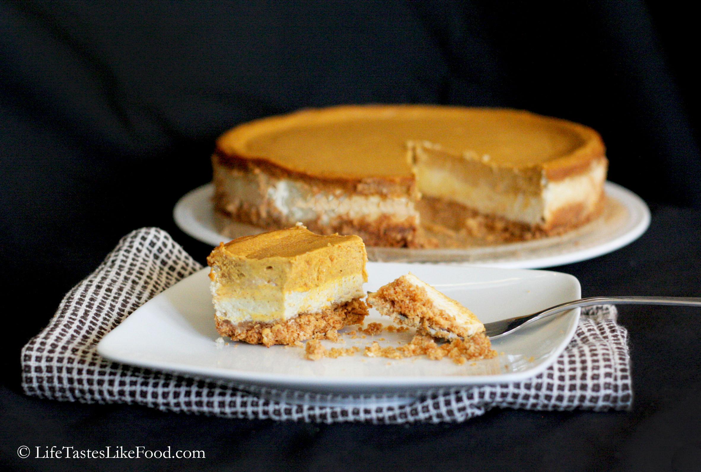 Recipe For Pumpkin Cheesecake  Pumpkin Cheesecake