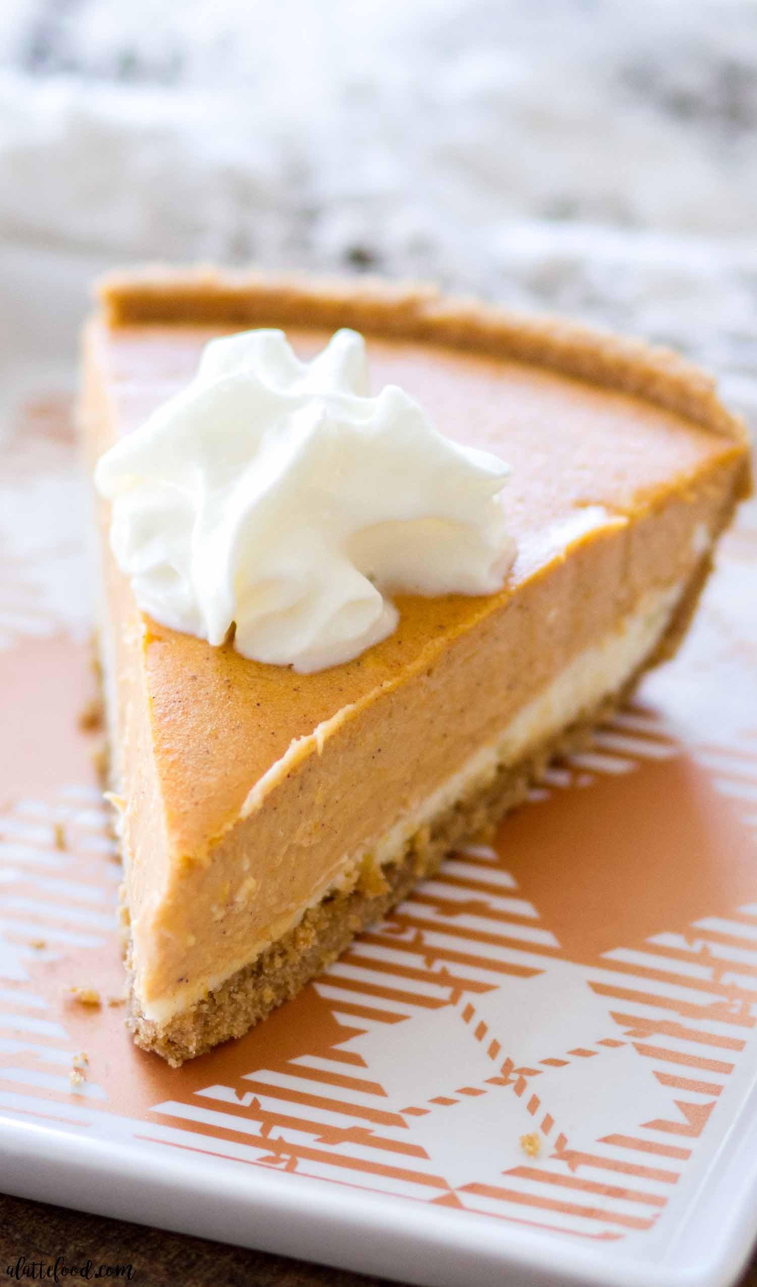 Recipe For Pumpkin Cheesecake  Pumpkin Cheesecake Recipe A Latte Food