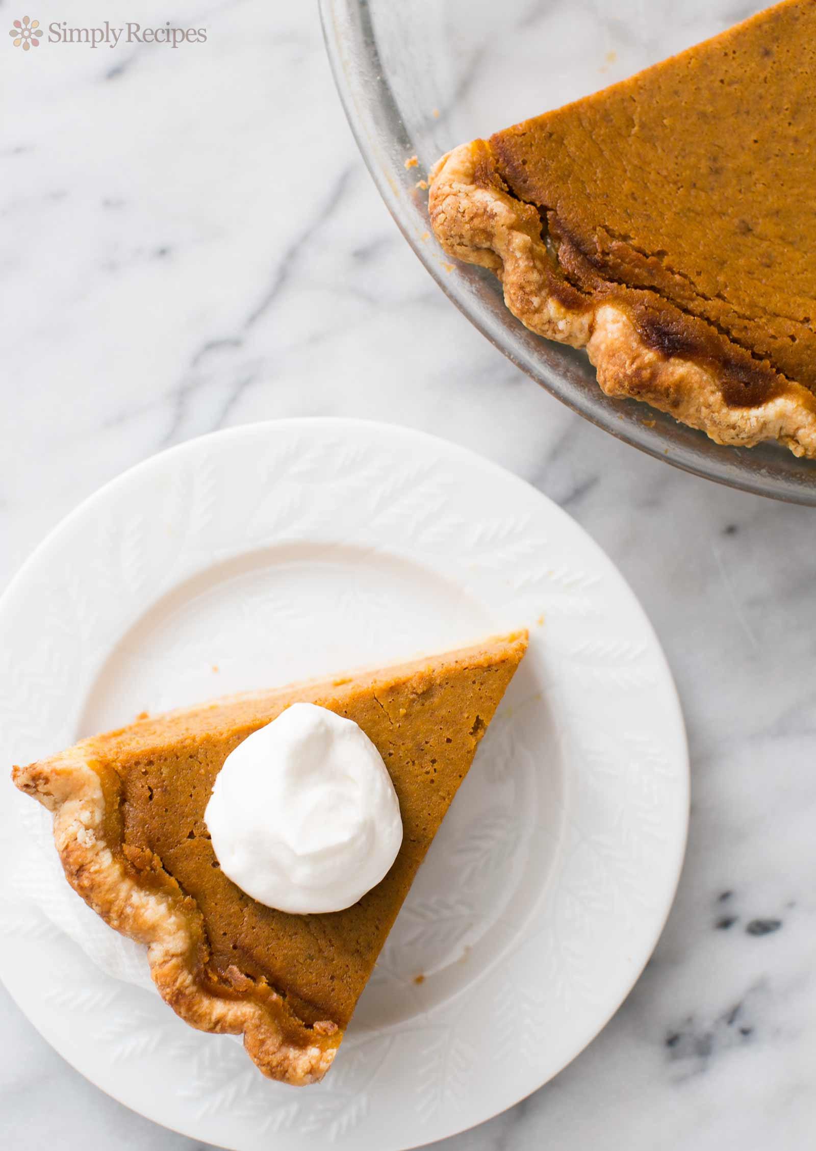 Recipe For Pumpkin Pie  Homemade Pumpkin Pie
