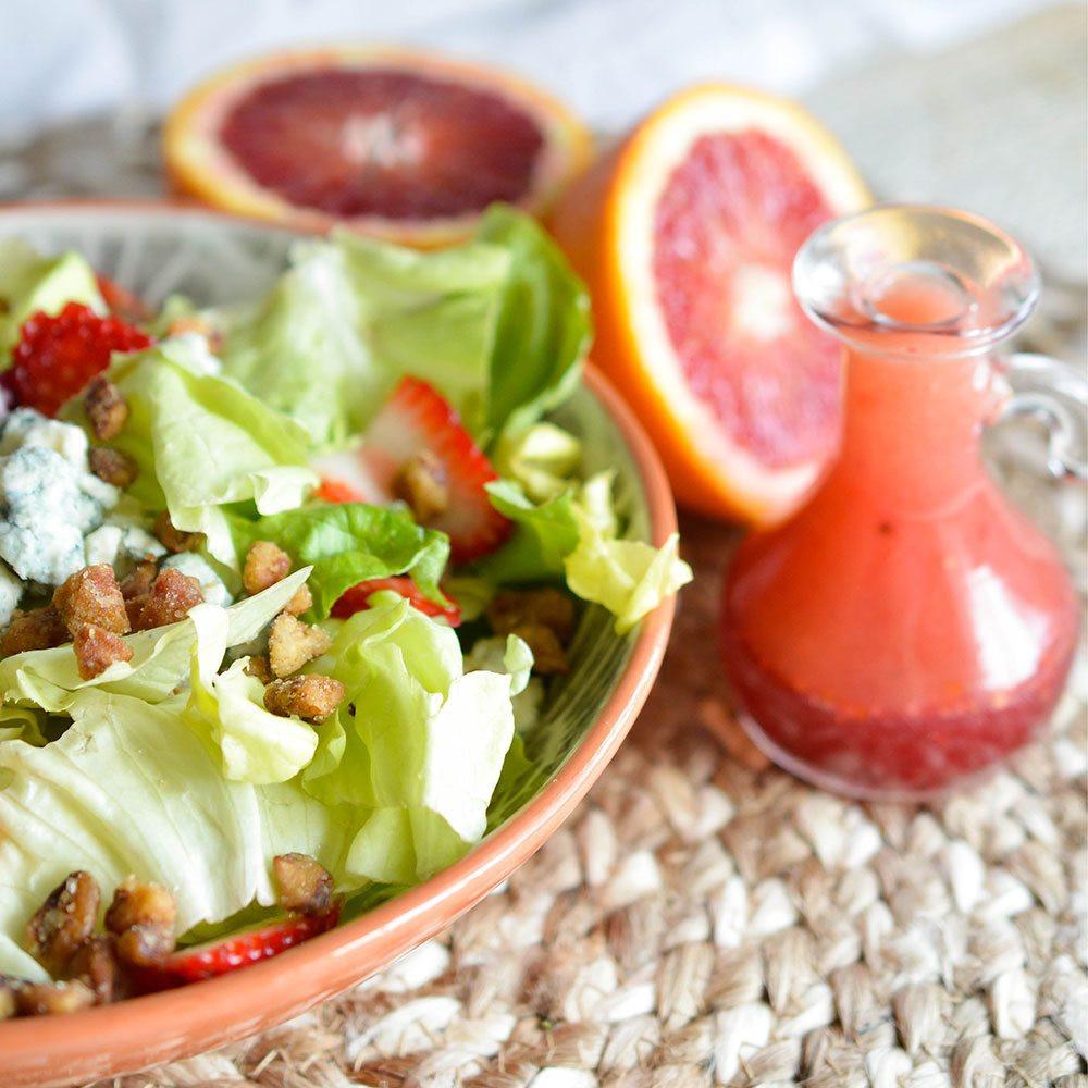 Recipe For Salad Dressings  Blood Orange Salad Dressing Recipe WonkyWonderful