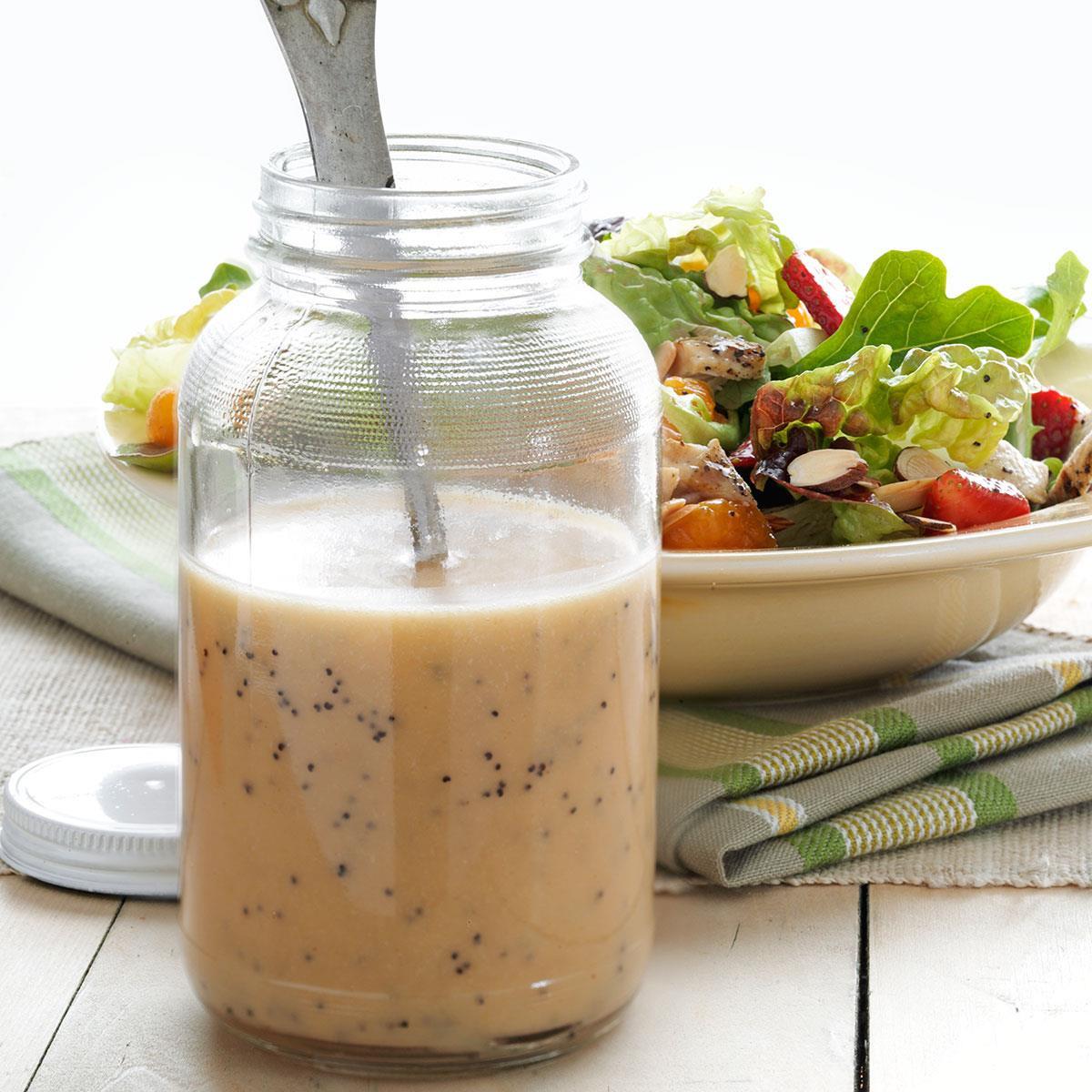 Recipe For Salad Dressings  Strawberry Poppy Seed Dressing Recipe