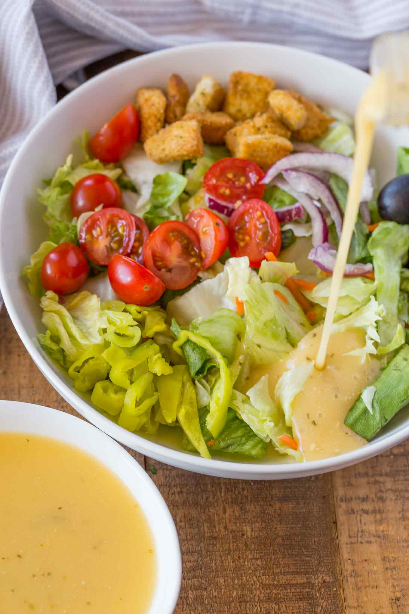 Recipe For Salad Dressings  Olive Garden Italian Salad Dressing Copycat Dinner