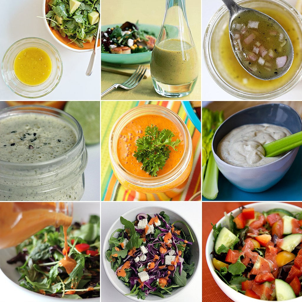 Recipe For Salad Dressings  Healthy Salad Dressing Recipes