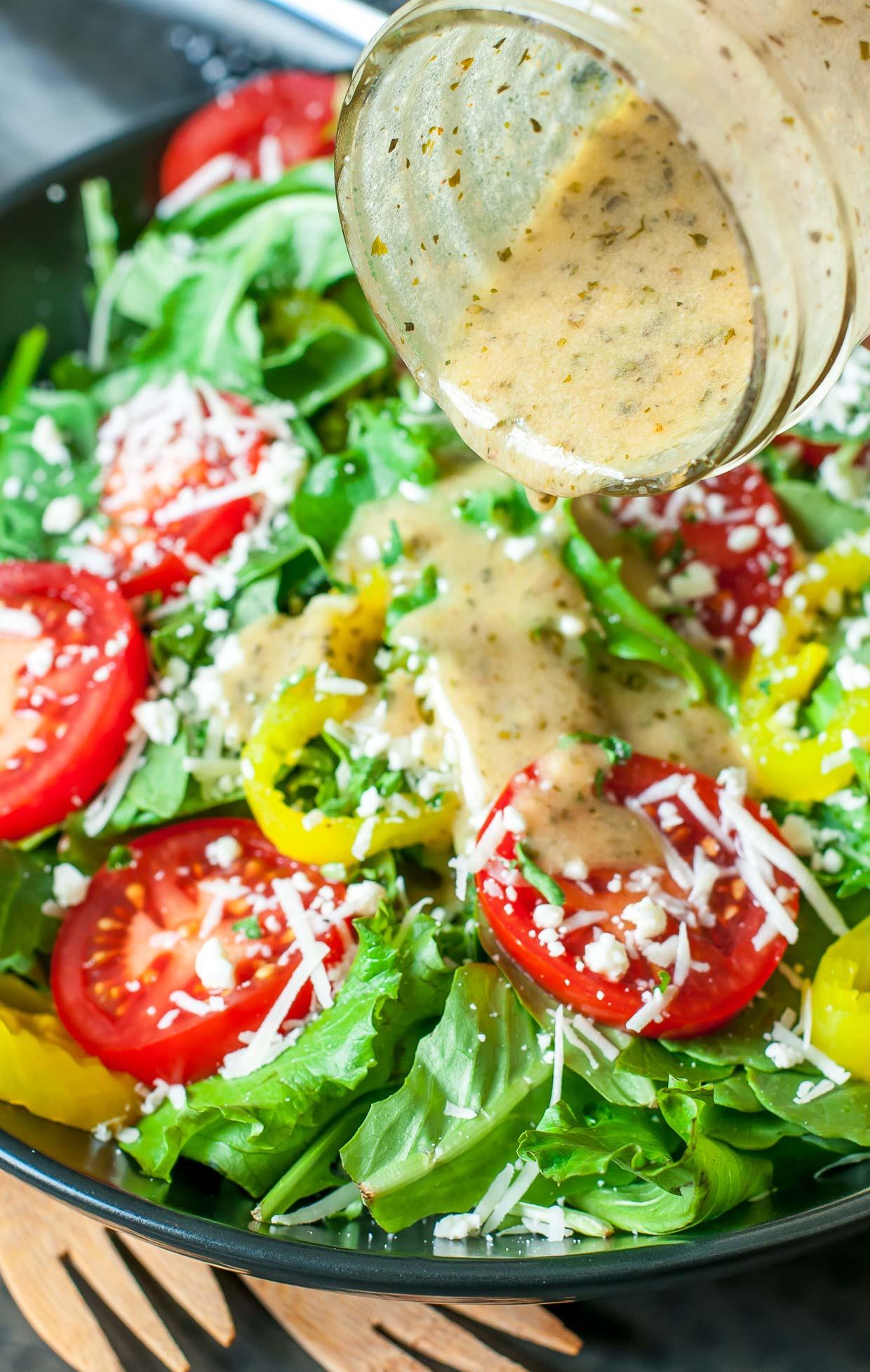 Recipe For Salad Dressings  greek salad dressing easy