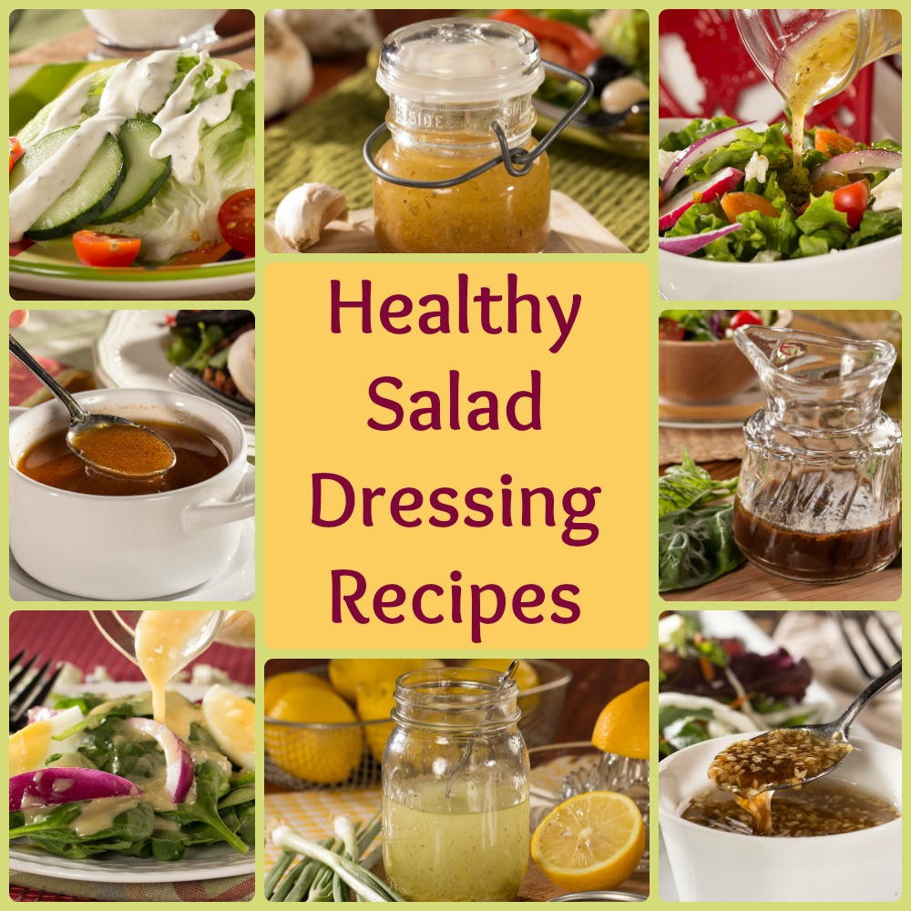 Recipe For Salad Dressings  Healthy Salad Dressing Recipes 8 Easy Favorites
