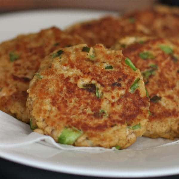 Recipe For Salmon Patties  salmon patties with panko crumbs