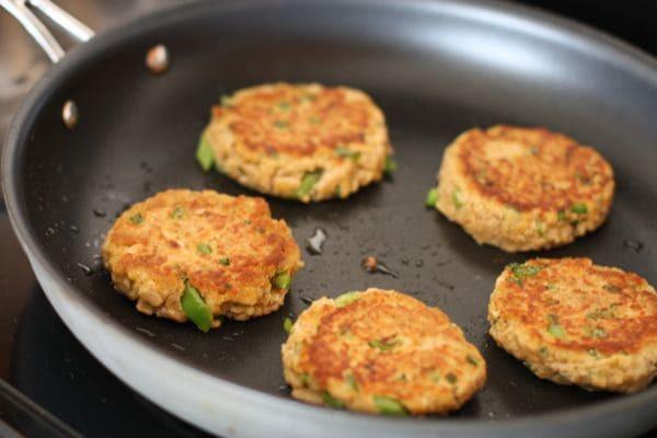 Recipe For Salmon Patties  Old Bay Salmon Cakes Aggie s Kitchen