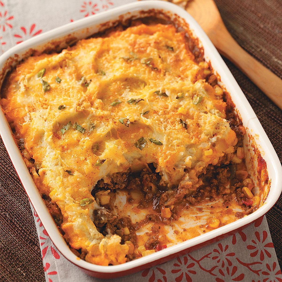 Recipe For Shepherd'S Pie With Ground Beef  Southwestern Shepherd s Pie Recipe