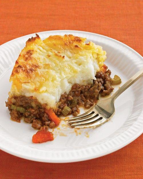 Recipe For Shepherd'S Pie With Ground Beef  Cheddar Topped Shepherd s Pie Recipe