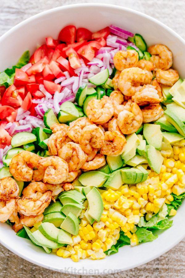 Recipe For Shrimp Salad  avocado shrimp salad