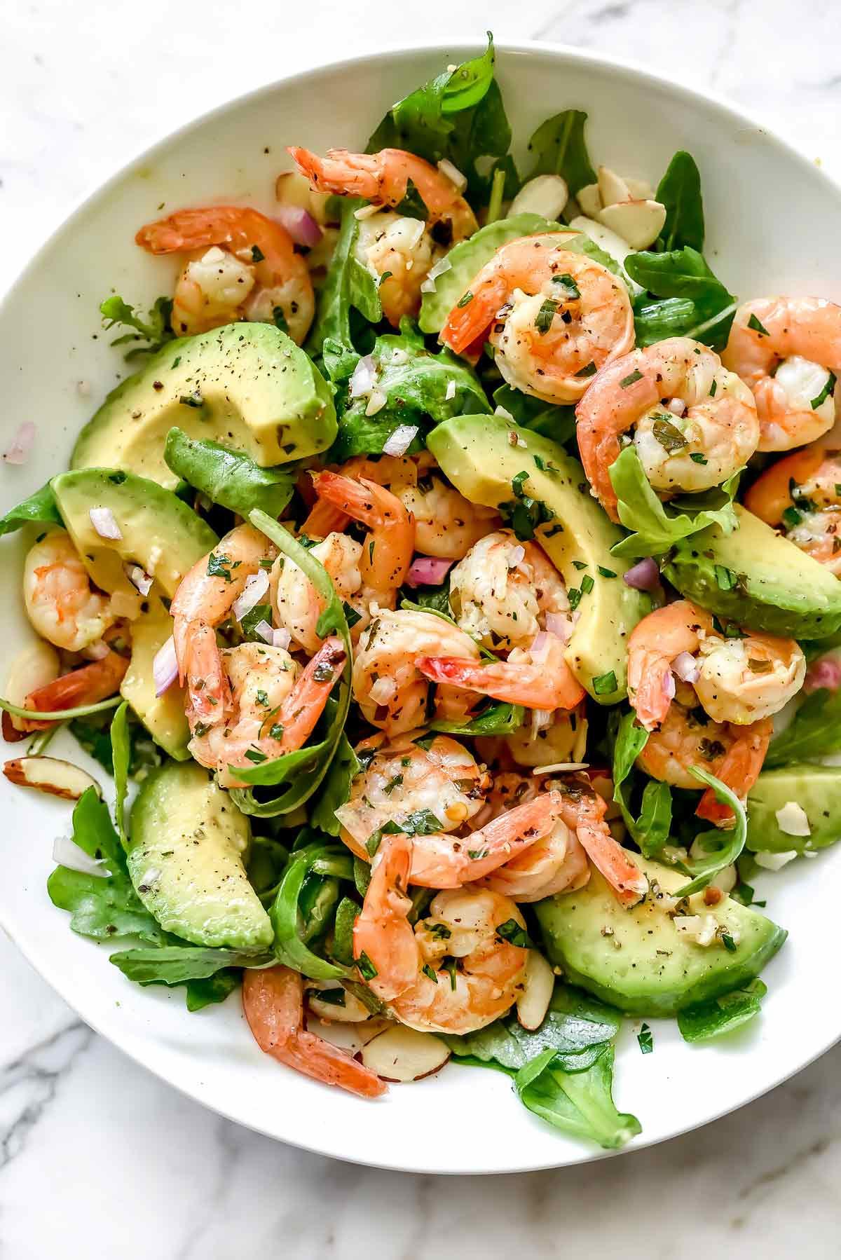 Recipe For Shrimp Salad  Citrus Shrimp and Avocado Salad