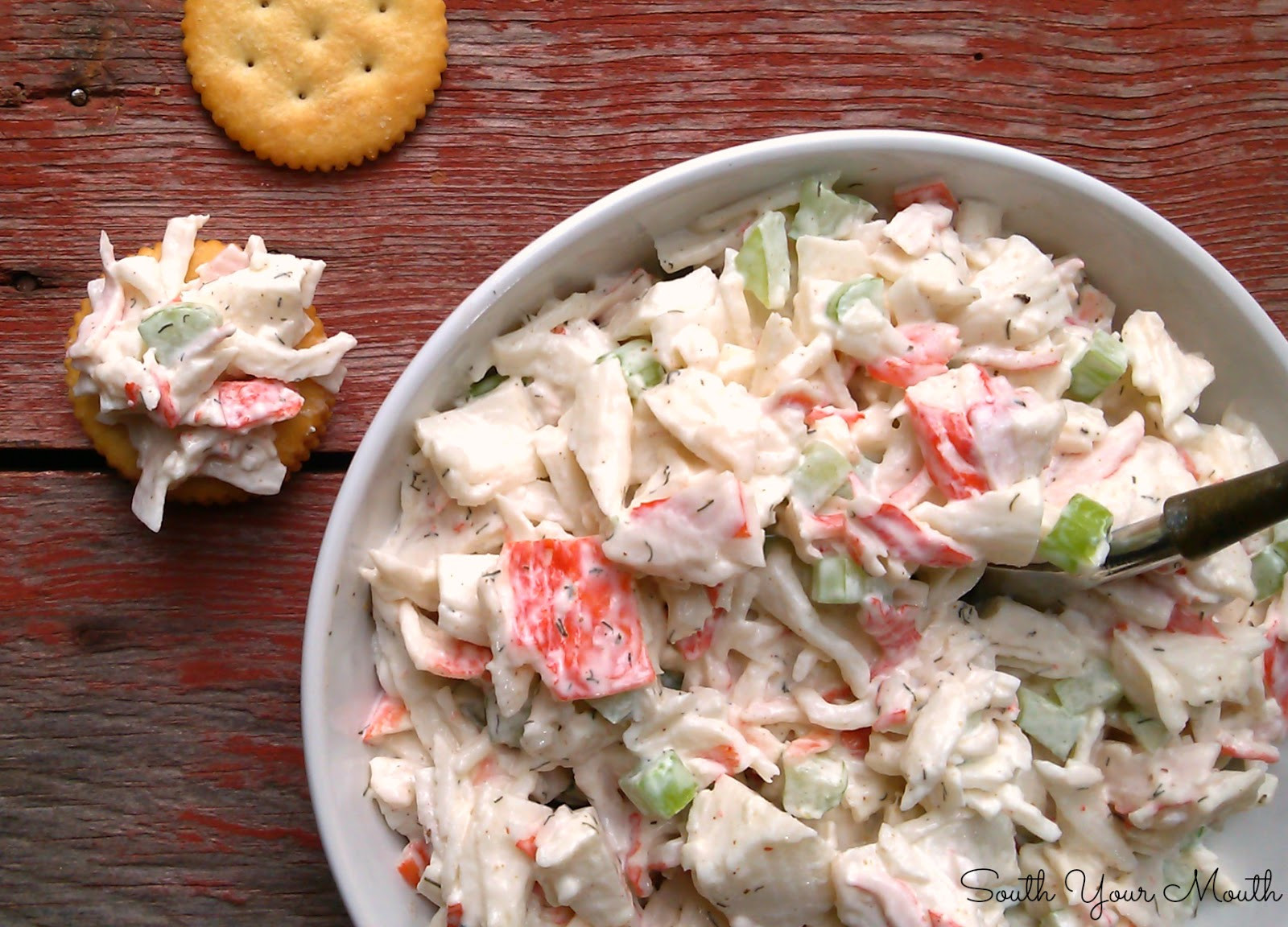 Recipe For Shrimp Salad  South Your Mouth Seafood Salad