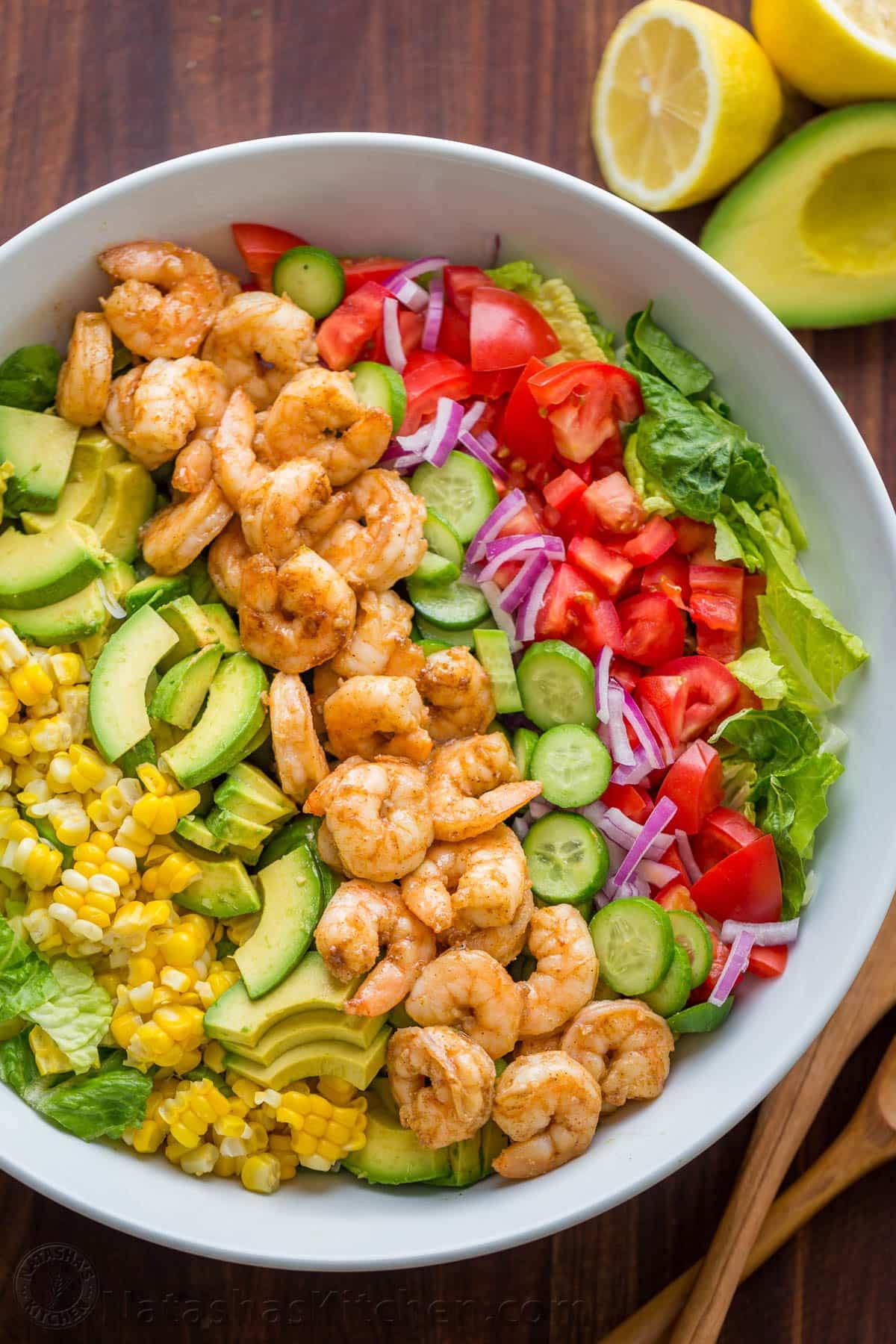 Recipe For Shrimp Salad  Avocado Shrimp Salad Recipe VIDEO NatashasKitchen