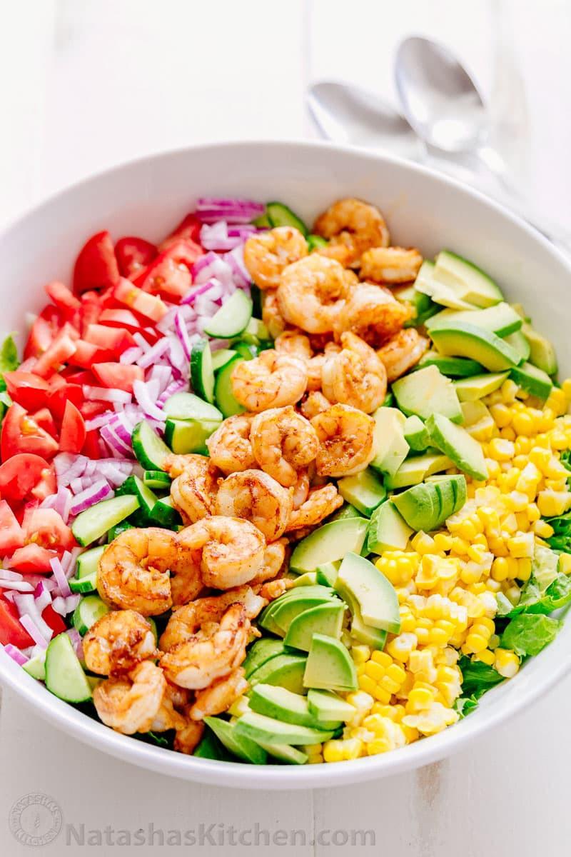 Recipe For Shrimp Salad  Shrimp Avocado Salad Recipe NatashasKitchen