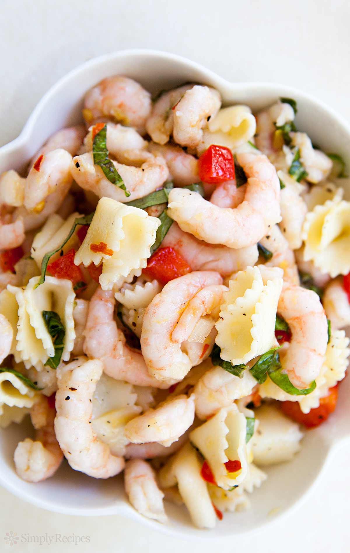 Recipe For Shrimp Salad  Shrimp Pasta Salad Recipe
